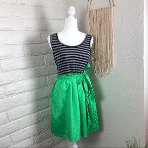 Anthropologie THEME striped dress